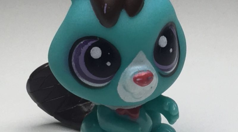 LITTLEST PET SHOP GREEN SQUIRREL